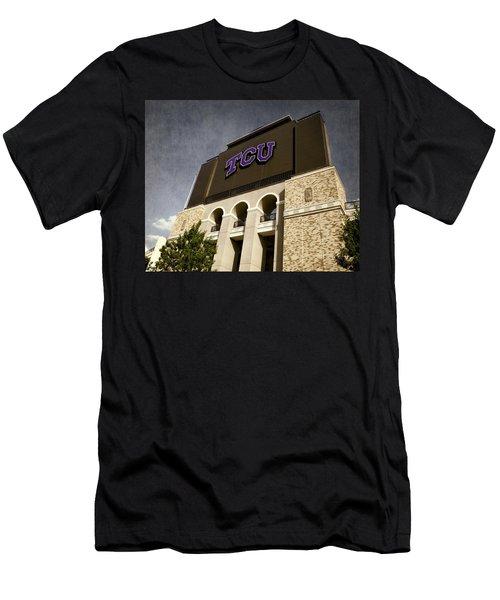Tcu Stadium Entrance Men's T-Shirt (Athletic Fit)