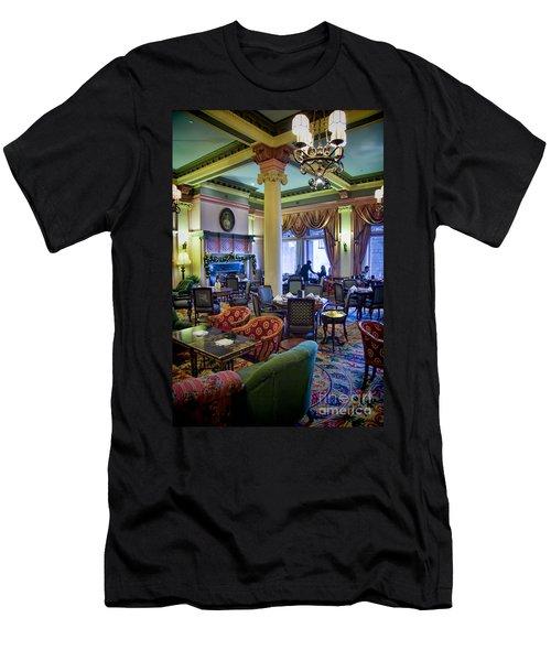 Tea At The Royal Empress Men's T-Shirt (Athletic Fit)