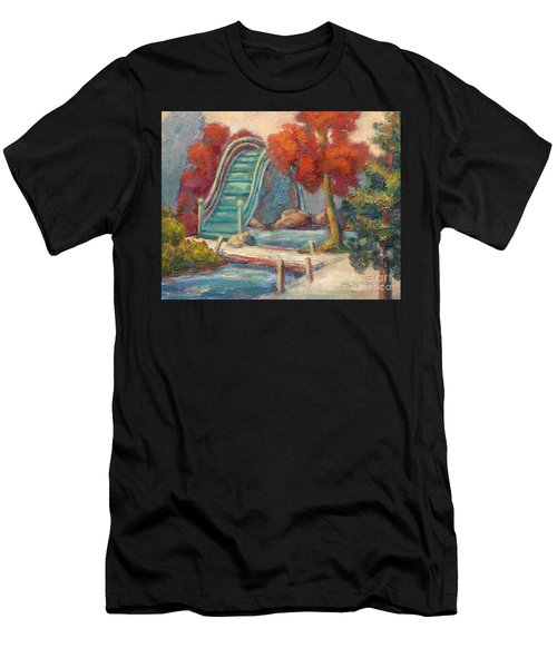 Tea Garden Bridge Men's T-Shirt (Athletic Fit)