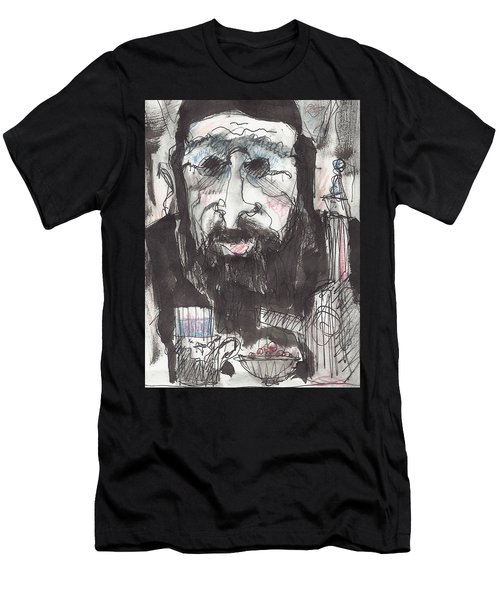 Tea Time 5 Men's T-Shirt (Slim Fit) by Maxim Komissarchik