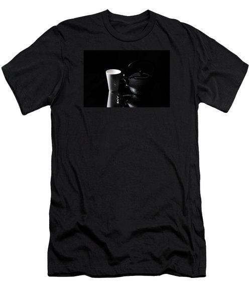Tea Time Soon Men's T-Shirt (Slim Fit) by Randi Grace Nilsberg