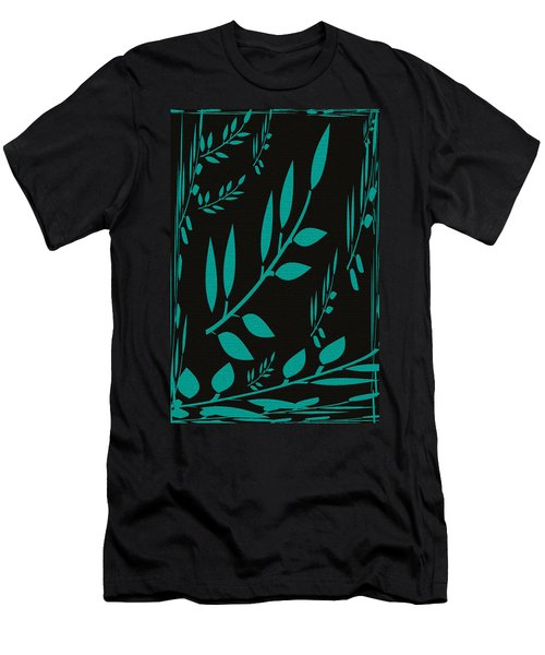 Teal Treasure Men's T-Shirt (Athletic Fit)