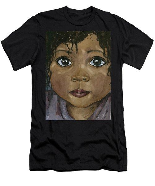 Ebony's Tears Men's T-Shirt (Athletic Fit)