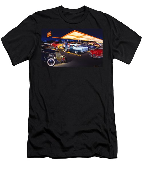 Teds Drive-in Men's T-Shirt (Athletic Fit)