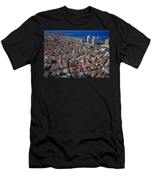 Tel Aviv - The First Neighboorhoods Men's T-Shirt (Athletic Fit)