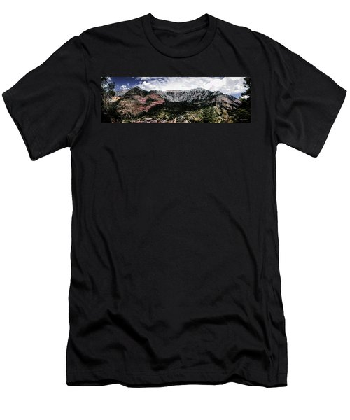 Telluride From The Air Men's T-Shirt (Athletic Fit)