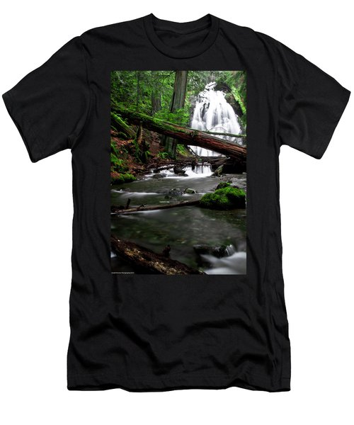 Temperate Old Growth Men's T-Shirt (Athletic Fit)