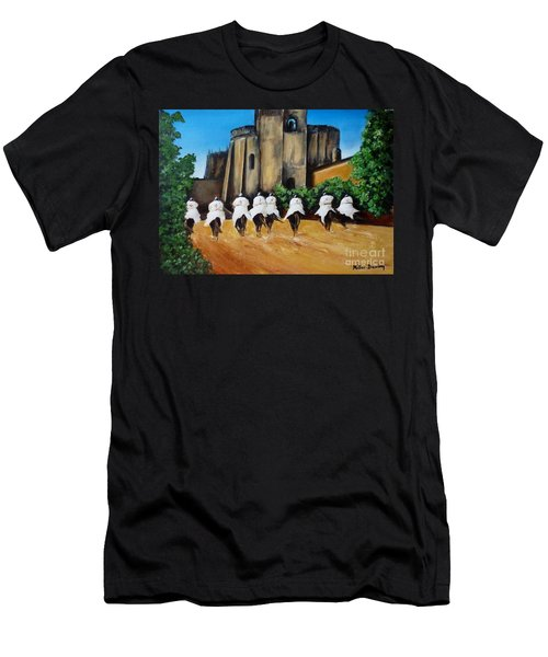 Templar Knights And The Convent Of Christ Men's T-Shirt (Athletic Fit)