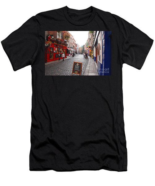 Temple Bar Men's T-Shirt (Slim Fit) by Mary Carol Story