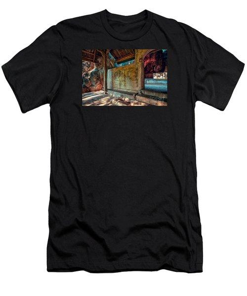 Temple Cave Men's T-Shirt (Athletic Fit)