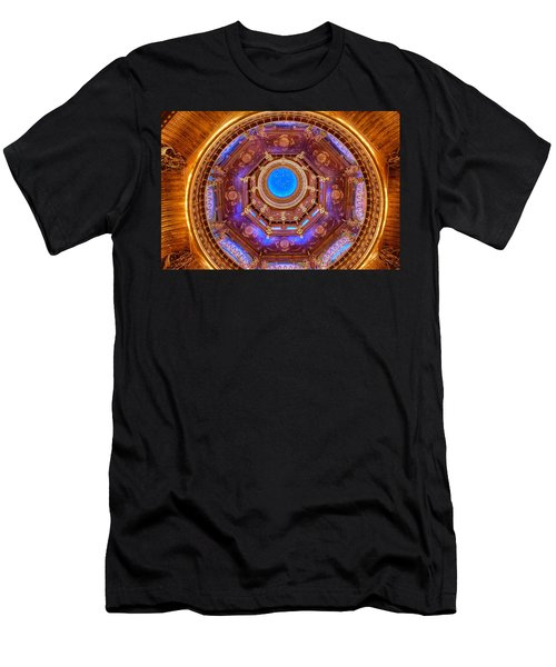 Temple Ceiling Men's T-Shirt (Athletic Fit)