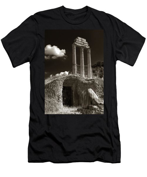 Temple Of Castor And Polux Men's T-Shirt (Athletic Fit)