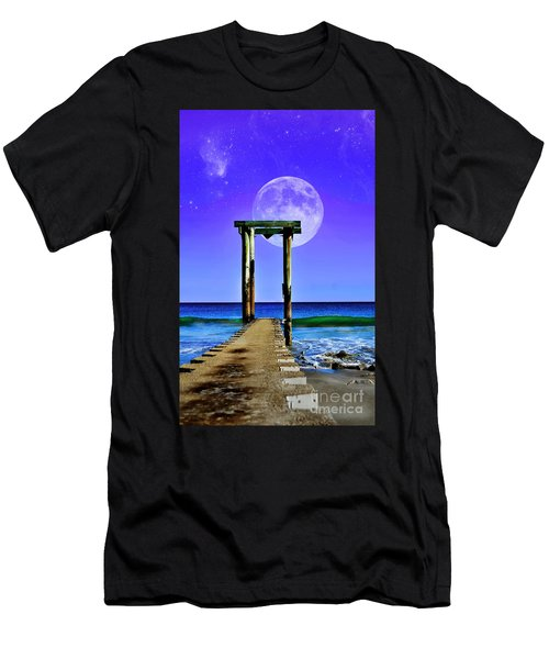 Temple Of The Atlantic Men's T-Shirt (Athletic Fit)