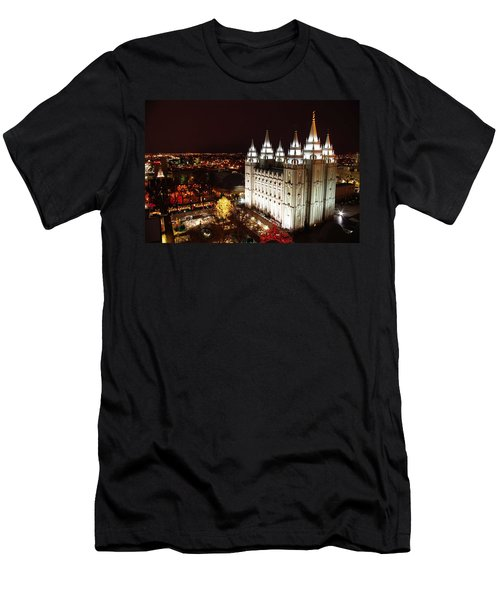 Temple Square Men's T-Shirt (Athletic Fit)
