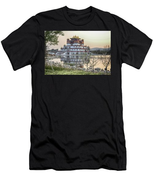 Temple Wuxi China Color Men's T-Shirt (Athletic Fit)