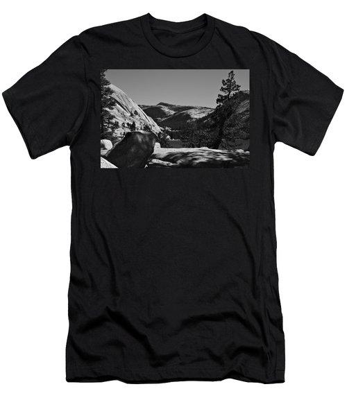Tenaya Lake In Yosemite Men's T-Shirt (Athletic Fit)