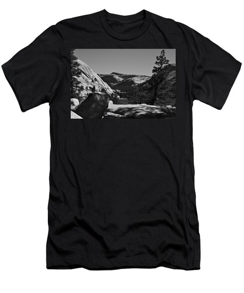 Tenaya Lake In Yosemite Men's T-Shirt (Athletic Fit)
