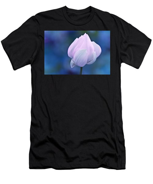 Tender Morning With Lotus Men's T-Shirt (Athletic Fit)