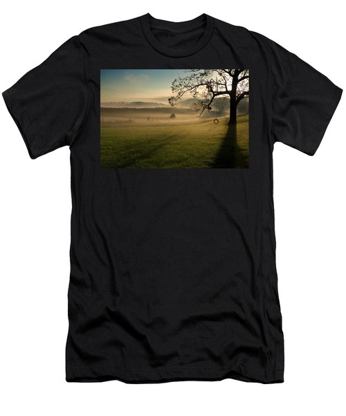 Tennessee Landscape Men's T-Shirt (Slim Fit) by Melinda Fawver