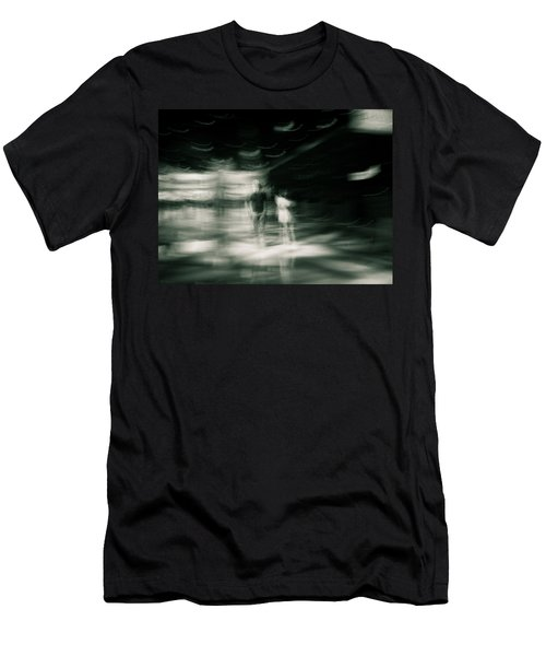 Men's T-Shirt (Slim Fit) featuring the photograph Tension by Alex Lapidus