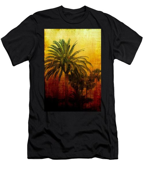 Tequila Sunrise Men's T-Shirt (Slim Fit) by Jan Amiss Photography