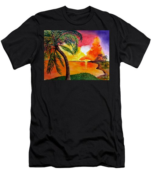 Tequila Sunset Men's T-Shirt (Athletic Fit)