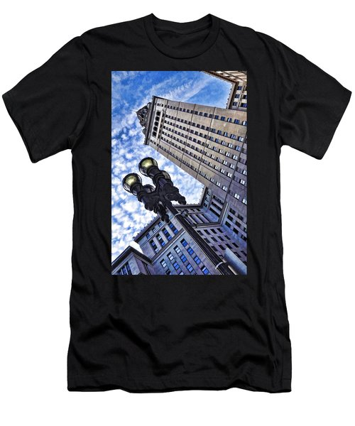 Terminal Tower - Cleveland Ohio - 1 Men's T-Shirt (Athletic Fit)