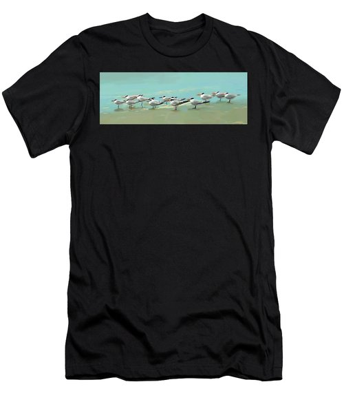 Tern Tern Tern Men's T-Shirt (Athletic Fit)