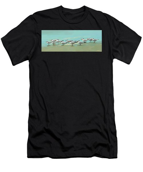 Tern Tern Tern Men's T-Shirt (Athletic Fit)