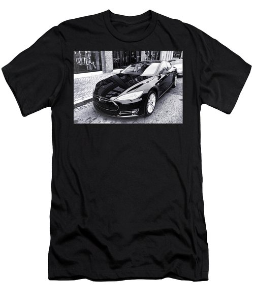 Tesla Model S Men's T-Shirt (Athletic Fit)
