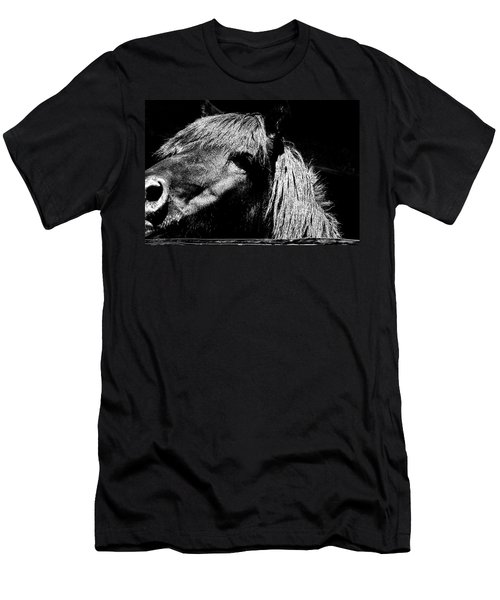 Teton Horse Men's T-Shirt (Athletic Fit)
