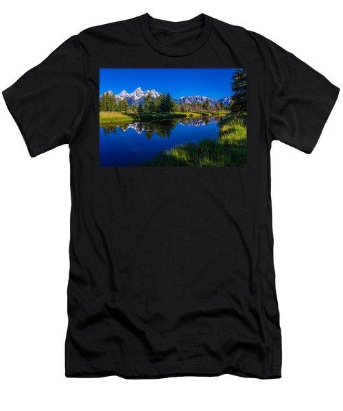 Teton Reflection Men's T-Shirt (Athletic Fit)