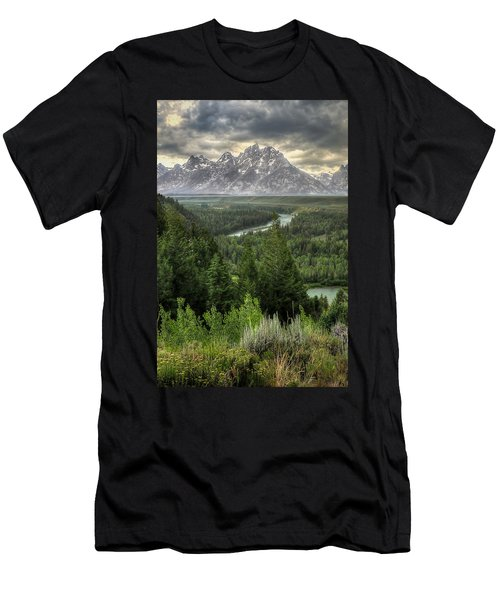 Teton Visions Men's T-Shirt (Athletic Fit)