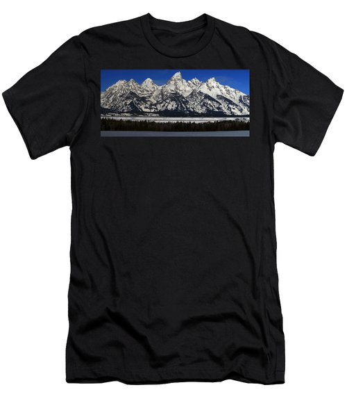 Tetons From Glacier View Overlook Men's T-Shirt (Athletic Fit)