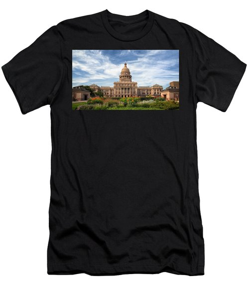 Texas State Capitol II Men's T-Shirt (Athletic Fit)