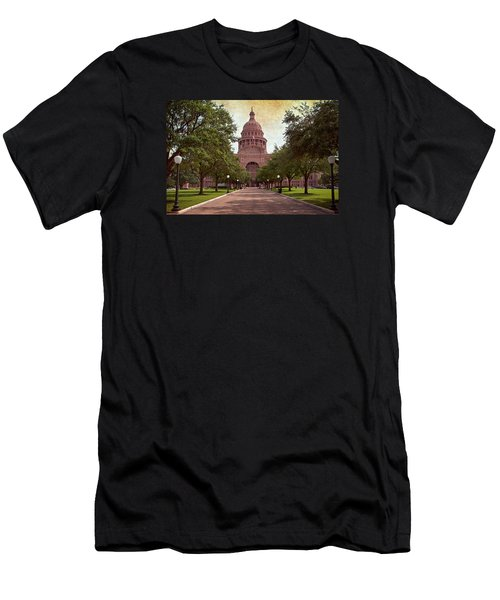 Texas State Capitol IIi Men's T-Shirt (Athletic Fit)