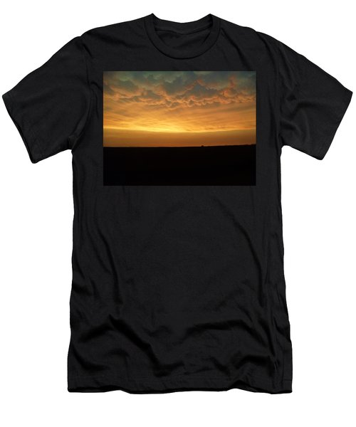 Men's T-Shirt (Slim Fit) featuring the photograph Texas Sunset by Ed Sweeney