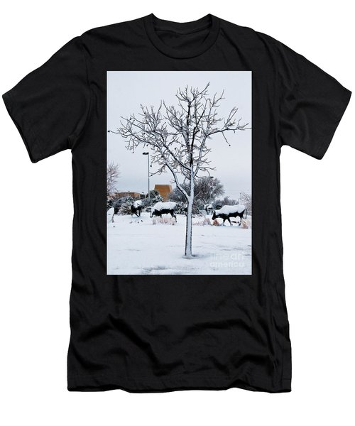 Men's T-Shirt (Athletic Fit) featuring the photograph Heritage Grounds by Mae Wertz