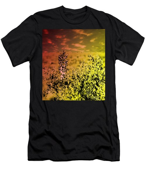 Texas Yucca Flower Men's T-Shirt (Athletic Fit)