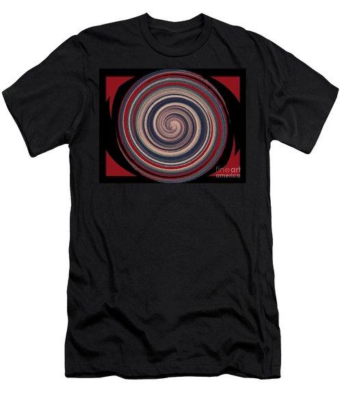 Textured Matt Finish Men's T-Shirt (Slim Fit) by Catherine Lott