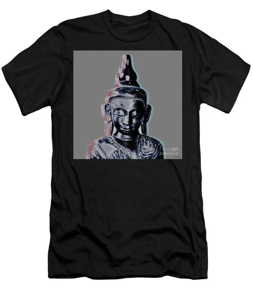 Thai Buddha #2 Men's T-Shirt (Athletic Fit)