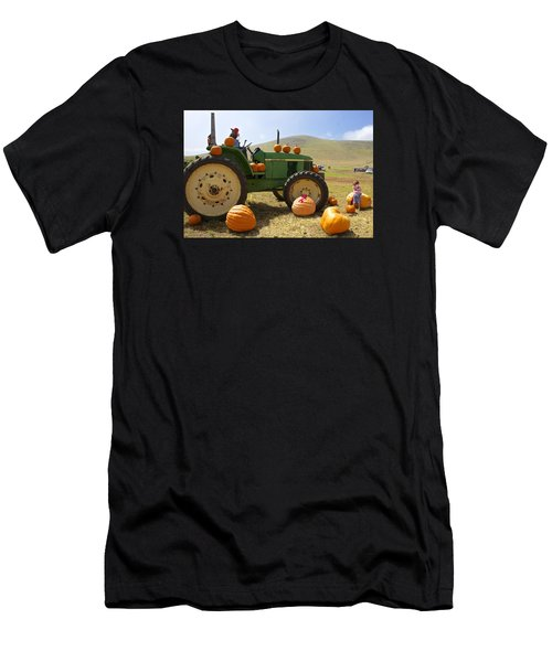 Thanksgiving Harvest Halloween Men's T-Shirt (Athletic Fit)