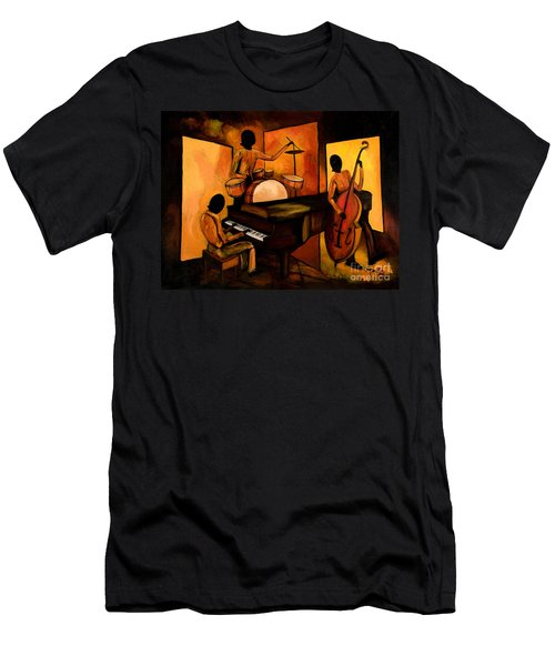 The 1st Jazz Trio Men's T-Shirt (Athletic Fit)