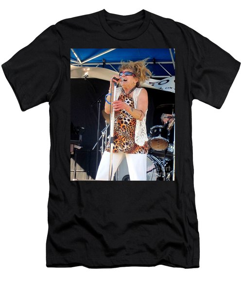 The Amazing Lydia Pense Men's T-Shirt (Slim Fit) by Fiona Kennard
