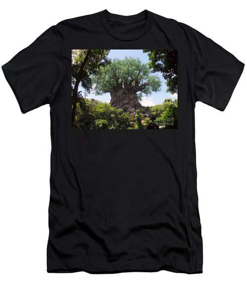 The Amazing Tree Of Life  Men's T-Shirt (Slim Fit) by Lingfai Leung
