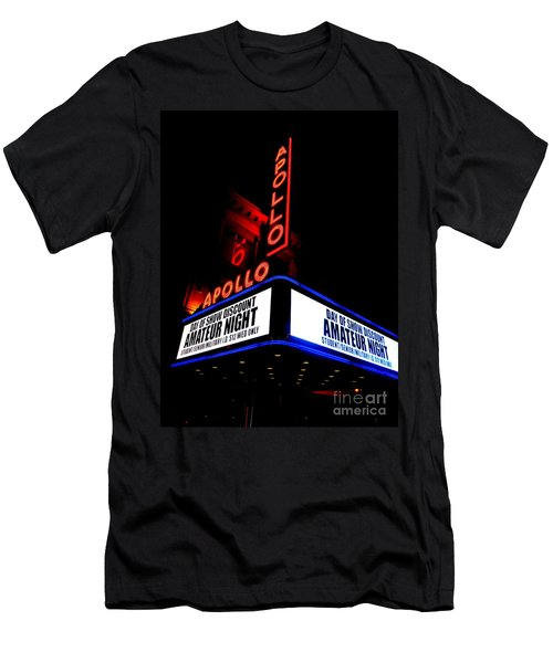 The Apollo Theater Men's T-Shirt (Slim Fit) by Ed Weidman