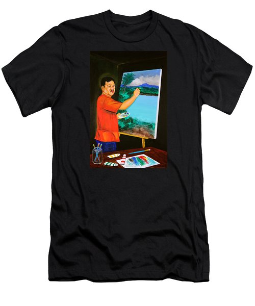 The Artist Men's T-Shirt (Slim Fit) by Cyril Maza