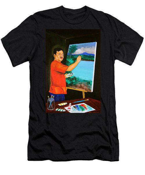 The Artist Men's T-Shirt (Athletic Fit)