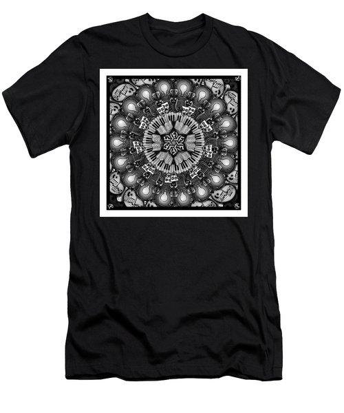 Mandalart Men's T-Shirt (Athletic Fit)