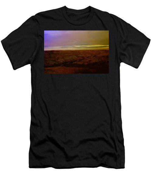 The Badlands Men's T-Shirt (Slim Fit) by Jeff Swan
